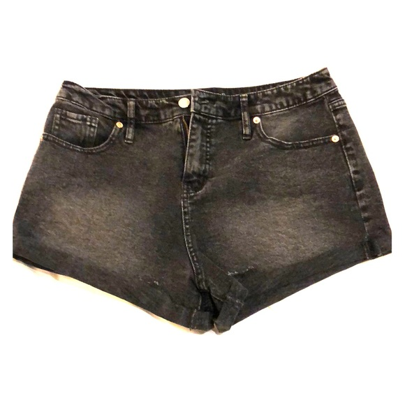 wild fable Pants - Wild fable black jean shorts